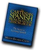 The Cartesian Spanish Pronunciation Lesson eBook cover art